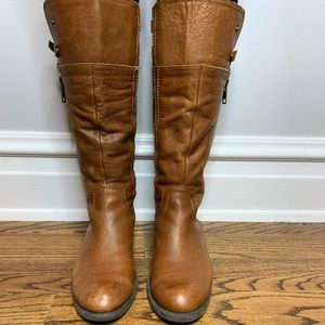 Franco Sarto Poet Leather Riding Boots